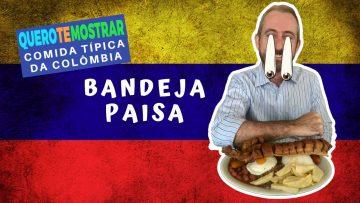 Bandeja Paisa Comida Típica Colombiana