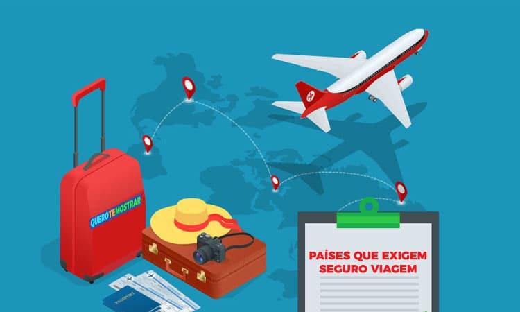 Países com Seguro Viagem Obrigatório