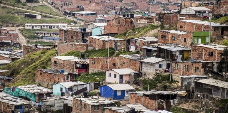 Casas Estrato 1 e 2 em Bogota